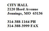 image of City hall address and phone numbers