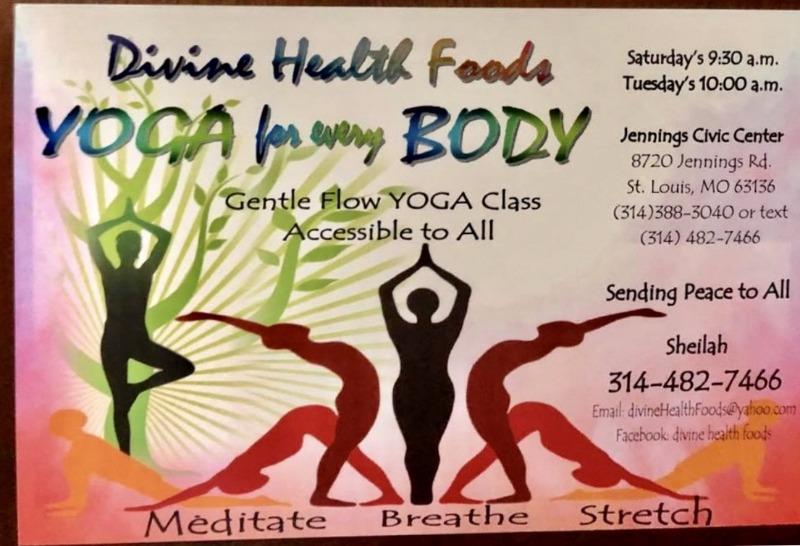 City Of Jennings Yoga Class
